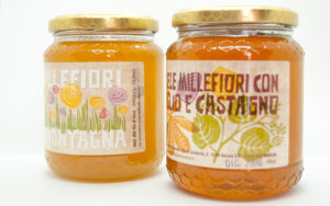 Miele artigianale 1000 fiori di montagna - Mille fiori tiglio e castagno • I Mieli del Ticino